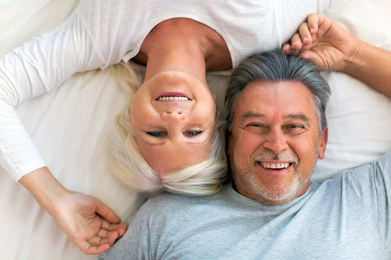 aging wife & husband