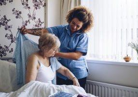 caregiver bedside assistance